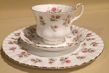 Royal Albert Winsome Trio - Tea Cup Saucer and Plate
