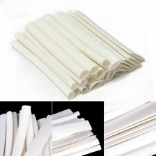 20pcs 4 Size 3/4:1 Heat Shrink Tubing Wire For Data Cable White