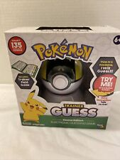 Pokemon Trainer Guess: Hoenn Edition Electronic Guessing Game New in Box