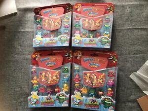 4 x SUPERTHINGS KAZOOM KIDS SERIES 8 PACKS OF 10 FIGURES NEW SEALED