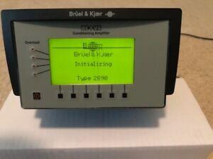 Bruel Kjaer 2690  Nexus 2 Channels - Conditioning Amplifier B&K