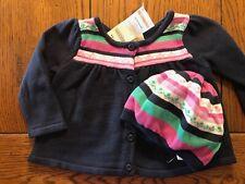 Nwt Gymboree Outlet Sweater Cardigan & Hat Girls Stylish Corgi Sz 12-18 Months