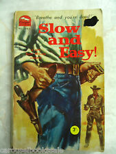 Slow & Easy by Scott McLure Cougar Western 363 No date pb A26