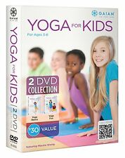 YOGA FOR KIDS (DVD SET) basics ABCs Silly to Calm yogakids fun children's NEW