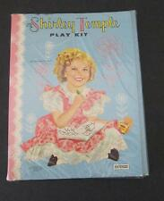 SHIRLEY TEMPLE 1961 SAALFIELD PAPER DOLL PLAY KIT / SEALED