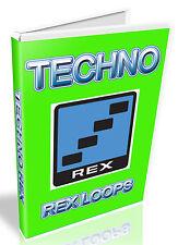 TECHNO REX Loops-REFILL-REASON CUBASE - - APPLE PRO TOOLS LOGIC-ABLETON PRO