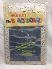 Vintage Magic Slate Film Blackboard Toy in Plastic