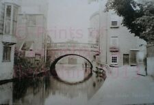 PRINT 10 X 7  A390 BRIDGE NEWBURY BERKSHIRE c1910