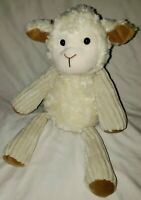 "Lenny the Lamb White Scentsy Buddy Full Size 17"" Sheep MINT Buddies Floppy Lovey"