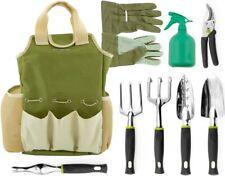 9 Piece Garden Tools Set - Gardening Tools with Garden Gloves and Garden Tools