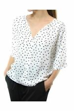 Polka Dot Tunic Machine Washable Casual Tops & Blouses for Women