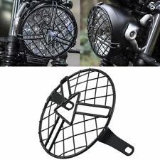 Headlight Protector Cover Retro Metal Grill for Chopper Triumph Suzuki Kawasaki