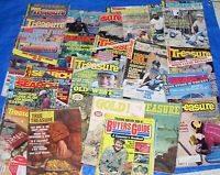 lot of 26 treasure hunting search gold caches pirates magazines metal detecting