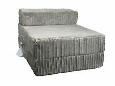 FoldOut Futon Single Guest Z Bed Jumbo Cord Folding Foam Mattress Z Bed MINK