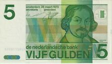 Netherlands,5 Gulden Banknote,28.3.1973,Choice Extra Fine Condition,Pick#95-A