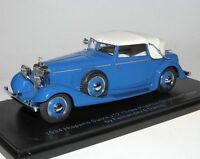 ESVAL MODELS 1934 Hispano Suiza J12 DHC Fernandez & Darrin blue closed 1/43