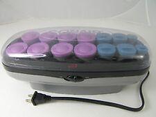 Conair Instant Heat Hair Setter 14 Hot Rollers 3 Sizes Velvet Pageant CHV14JXT