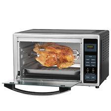 Gourmetmaxx infrarouge four Ecran Numérique Argent 28L Volume poule frire PIZZA