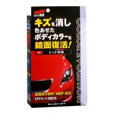 Soft99 Car Wax Color Evolution Damage Care Red Color Car Wax Restoration Kit