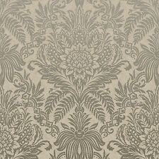 Crown Wallpaper - Signature French Damask - Metallic Gold - Luxury Vinyl - M1066