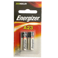 Energizer 2pk 12V Alkaline Batteries A23BP Replace 1811A, 23A, 8F10R, 8LR32, A21