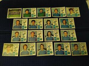1979-80 NAPOLI Calciatori Panini 18 figurine recuperate 206 MARINO 207 BADIANI