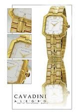 Luxury Men's Watch Gorgeous Von Cavadini ip-gold-plattiert Series Allegro