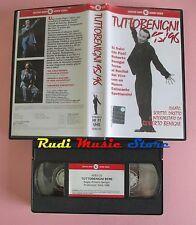 film VHS TUTTOBENIGNI 95/96 Roberto Benigni CECCHI GORI 1996  (F33) no dvd