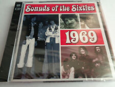 2 CD  TIME LIFE - SOUNDS OF THE SIXTIES - 1969 neu new