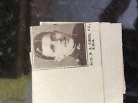 a1k ephemera 1917 ww1 small picture sergt n a finch r m a v c