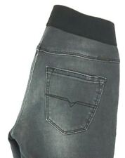 NWT DIESEL Women's Faded Black Debbie Super Skinny Elastic Waist Jeans 24 x 28
