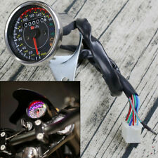 12V LED Backlight Motorcycle ATVs Odometer Speedometer km/h MPH N Gear Indicator