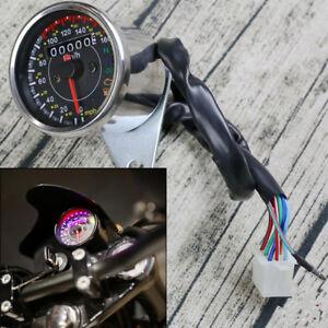 12V LED Backlight Motorcycle ATV Odometer Speedometer km/h MPH N Gear Indicator