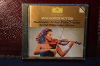 Rare Anne Sophie Mutter Violin Concertos Karajan Deutsche Grammaphone CD Sealed
