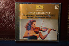 Rare Anne Sophie Mutter Violin Concertos Karajan Deutsche Grammaphone CD Sealed