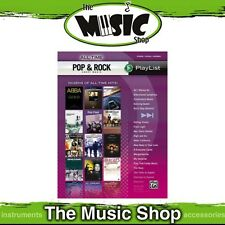 Sheet Music Playlist 'All-Time Pop & Rock' PVG Music Book - Piano Vocal Guitar