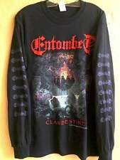Entombed Long sleeve XL shirt Death metal Sinister Dismember Carnage Autopsy