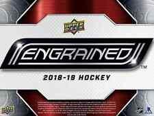 2018-19 Caja Sellada UD profundamente Hockey Hobby