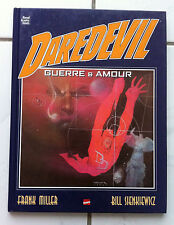 "DAREDEVIL ""GUERRE & AMOUR"" - MILLER / SIENKIEWICZ - MARVEL GRAPHICS NOVELS 2002"