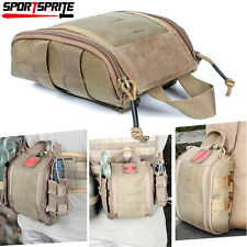 Tactical Compact Molle Belt First Aid IFAK Utility Medical Accessory Bag Pouch