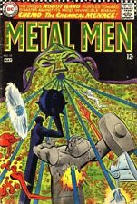 METAL MEN #25 G, Ross Andru A, foxing, DC Comics 1967 Stock Image