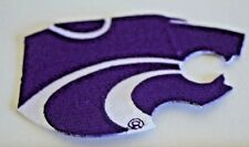 """Kansas State Wildcat 5"""" Iron on embroidered patch"""