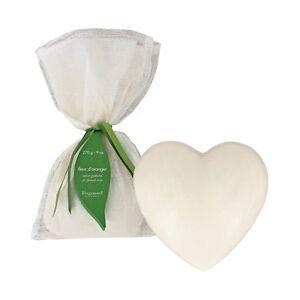 Fragonard French Luxury Perfumed Orange Blossom Heart Soap 270g 9oz