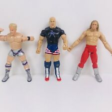 3 X JAKKS WWE WWF Kurt Angle Wrestling Action Figure Kids Toy Bundle Bulk