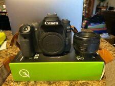 Canon Eos 80D 24.2Mp Digital Slr Camera - Black With 50mm 1.8 lens