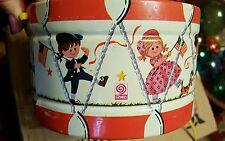 Vintage J. Chen Patriotic Toy Drum