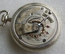 Railroad Grade Pocket Watch Early 18s Elgin 21 Jewel