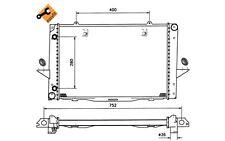 NRF Radiador, refrigeración del motor VOLVO 850 C70 V70 S70 519509
