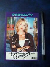 Christine Stephen Daily - Casualty   Autograph (DD11)