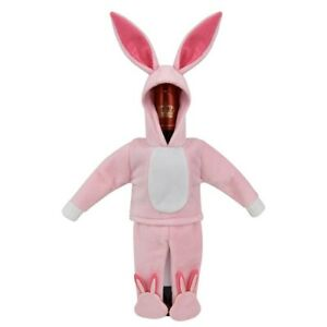 St. Nicholas Square Bunny One-Piece Wine Bottle Cover ~ Ralphies PJs ~ NWT